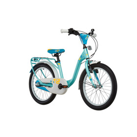 s'cool niXe 18 3-S Childrens Bike alloy blue/turquoise